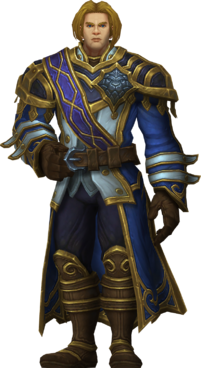 Anduin wrynn prince of stormwind