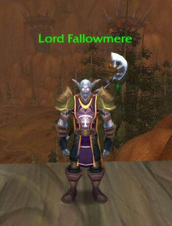 Lord Fallowmere