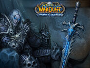 Wrath of the Lich King Northrend loading screen