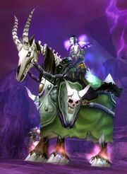 Green Skeletal Warhorse