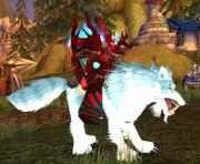 Arctic Wolf mount