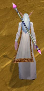 Magician Staff, Stone Background, NE Female