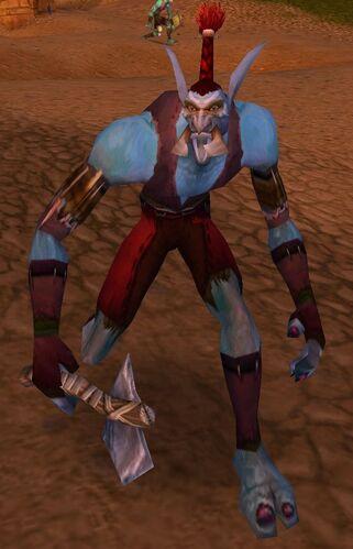Bloodscalp Axe Thrower