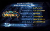 WoWInsider-BlizzCon2013-WoWArtPanel-Slide01-Blizz folks