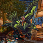 Corrupted hippogryph wow mount loot