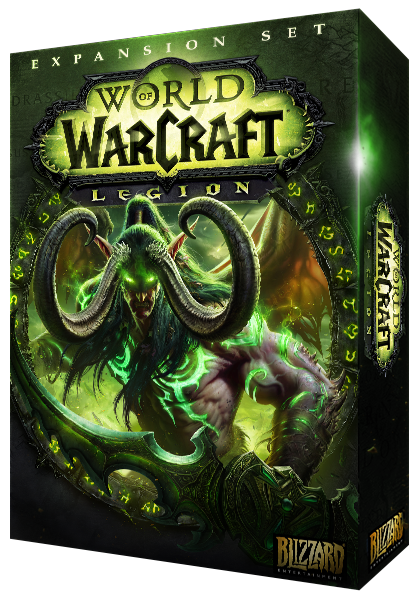 World of Warcraft Cataclysm Expansion Box Cover