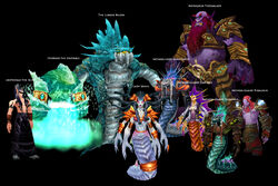 Serpentshrine Cavern bosses