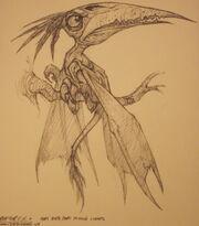 Raptoryx concept art