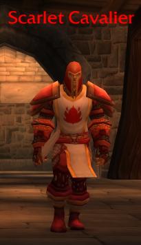 Scarlet Cavalier