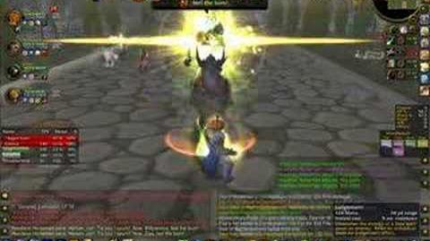 Paladin Tanking Headless Horseman - Hallow's End - World of Warcraft