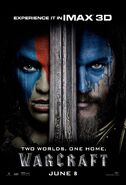 Warcraft IMAX Poster 01