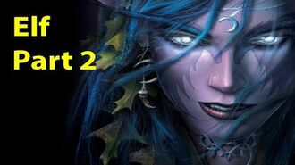 Warcraft 3 Gameplay - Elf Part 2 - Daughters of the Moon