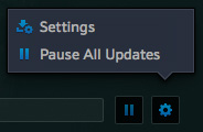 Battle.net app-Beta-WoW-PTR-downloading-Setting-Pause