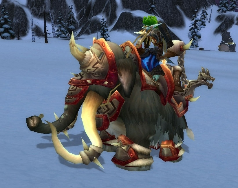 Wow - How to get the Grand Black War Mammoth rare mount ...