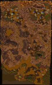 Where Wyverns Dare Map