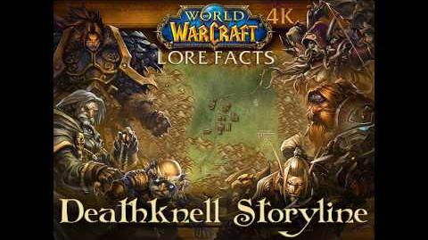 Deathknell Storyline with Pop-up Lore Facts in World of Warcraft 4K