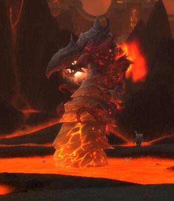 Subterranean Magma Worm