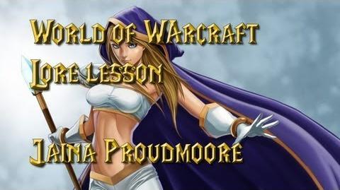 World of Warcraft lore lesson 34 Jaina Proudmoore