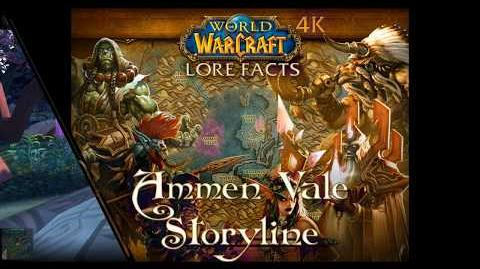 Ammen Vale Storyline with Pop-up Facts of World of Warcraft 4K