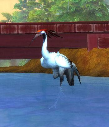 Whitefeather Crane