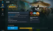 Battle.net app-Beta-WoW-PTR-downloading