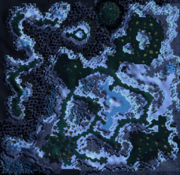 Frostmourne Map