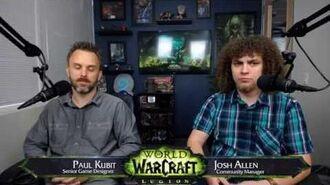 Legion Professions Developer Q&A with Paul Kubit