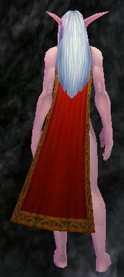 Cloak of the Betrayed, Stone Background, NE Female
