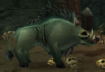 Withered Battle Boar