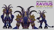 Xavius Satyr form