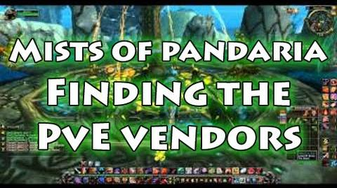 Mists of Pandaria Finding the PvE vendors