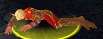 Dying Blood Elf