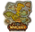 New Draenor map with Warlords logo.png