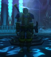 Uther in the Halls of Reflection