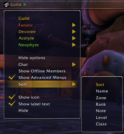 TitanGuild rightclickmenuwithsort