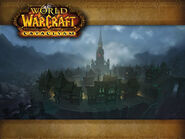 Old Battle for Gilneas City loading screen