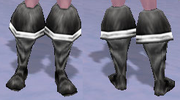 Buccaneer's Boots, Snow Background, NE Female