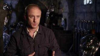 """Warcraft Ben Foster """"Medivh"""" Behind the Scenes Movie Interview"""