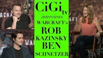 WARCRAFT Interview with Rob Kazinsky & Ben Schnetzer!!