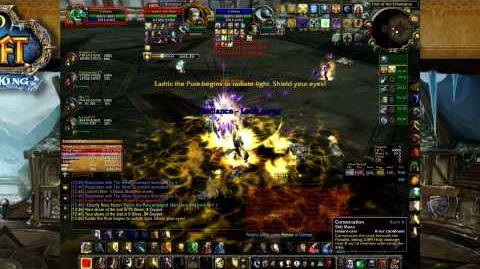 Paladin Tanking Trial of the Champion - World of Warcraft