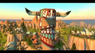 Tauren Intro Cinematic World of Warcraft 4K
