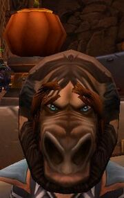 Flimsy Male Tauren Mask