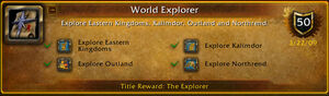 World Explorer Achivement