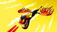 S1e1b Beast fires laser vision