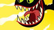 S1e1b Beast opens mouth wide