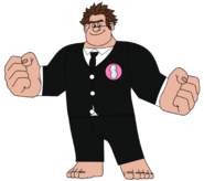 Wreck-It Ralph in a Night Out Suit 2