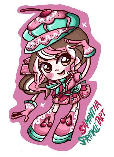 Sugar rush samintha sprinkletart by samaimurai-d5lk2yp