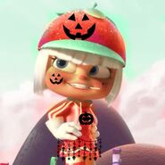 Orangela Pumpkin Girl