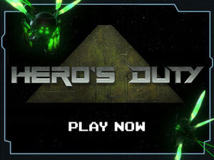 Heros duty mainscreen