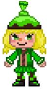 Green pixel head